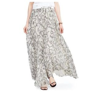 Banana Republic Sketched Floral Maxi Skirt